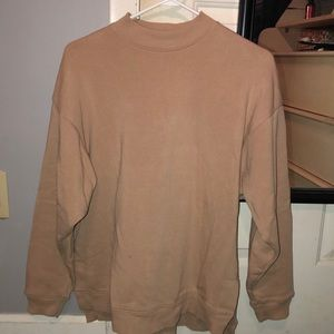 AE small crewneck tan sweatshirt WORN TWICE